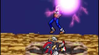Vegeta vs Sonic Shadow