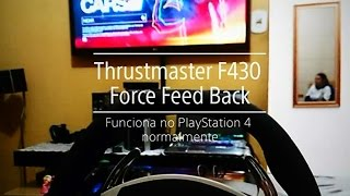Thrustmaster F430 force feedback funciona no PlayStation 4