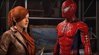 Spider-man meets Mary Jane in the Raimi Suit - PS4 Spider-man (Clip)
