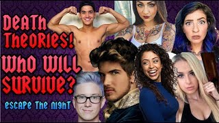 GABBIE & TANA DIE?! ESCAPE THE NIGHT SEASON 2 PREDICTIONS!!