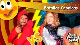 Chapulín Colorado VS Thor - Batallas Crónicas ft WEREVERTUMORRO - Internautismo