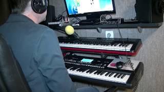 """""""Весна пришла"""" кавер-версия на синтезаторе KORG PA-300"""