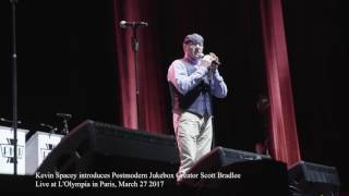 Kevin Spacey Introduces Me Onstage At A Postmodern Jukebox Show