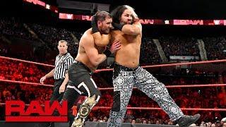 """""""Woken"""" Matt Hardy & Bray Wyatt vs. Curtis Axel & Bo Dallas: Raw, May 7, 2018"""