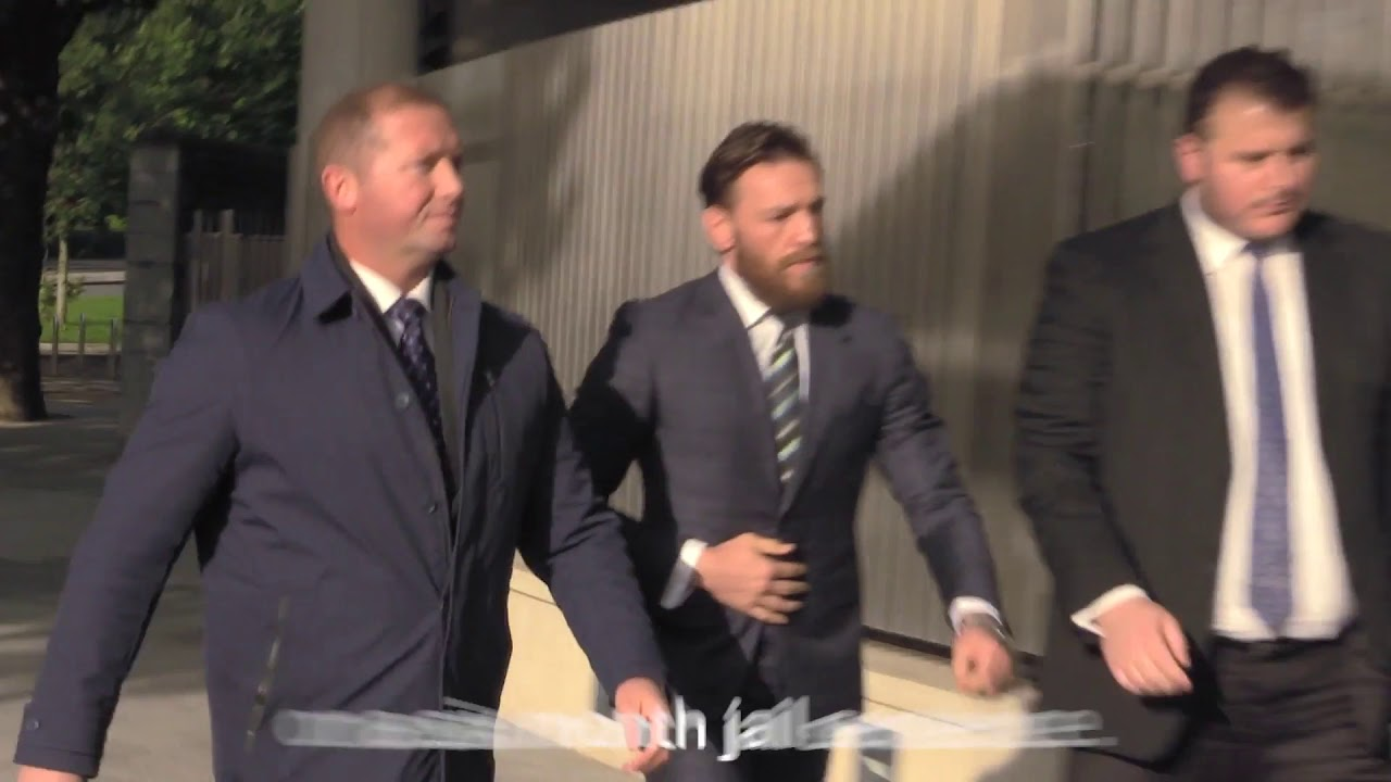 Conor McGregor appears in court in Dublin over Alleged Pub Assault