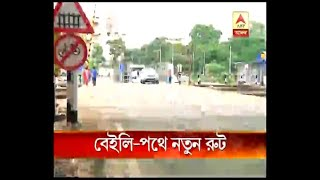 New routes to smooth traffic movement on newly constructed bailey bridge after Majherhat B