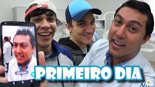 Primeiro dia como YouTuber - Feat Julio Cocielo e Christian Figueiredo