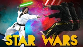 TaeKwonDo Lightsaber Fight