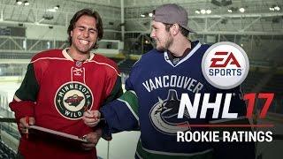 NHL Rookies React to NHL 17 Ratings