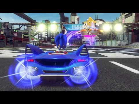 Sonic & Sega All Stars Racing Transformed Pc Version Ep.2 Easy Mode Is To Easy