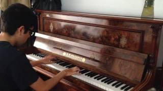 Arctic Monkeys - Old Yellow Bricks (piano cover)