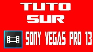 TUTO / Sony Vegas Pro 13 / Enlever les bandes noires sur les vidéos !