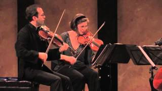 Brentano String Quartet Plays Beethoven Quartet Op. 130, 4th movement