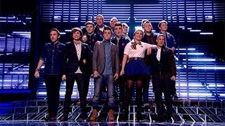 The Finalists sing Carly Rae Jepsen/Owl City's Good Times - Live Week 5 - The X Factor UK 2012