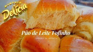PÃO DE LEITE FOFINHO