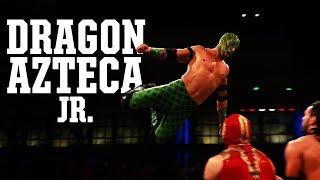 Dragon Azteca Jr tiene un mensaje para Johnny Mundo