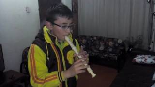 La Lambada (LLorando Se Fue) En Flauta Dulce con NOTAS
