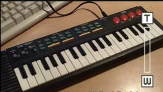 Hing Hon EK-001 square wave keyboard