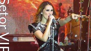 """Setor VIP : : Dulce María canta """"O Lo Haces Tú o Lo Hago Yo"""" em São Paulo (09/04/17)."""