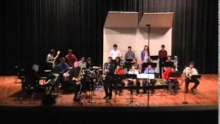 """""""Funky Cha-Cha"""" clip - Guest artist Jeff Coffin with Derek Brown and ACU Jazz Ensemble"""