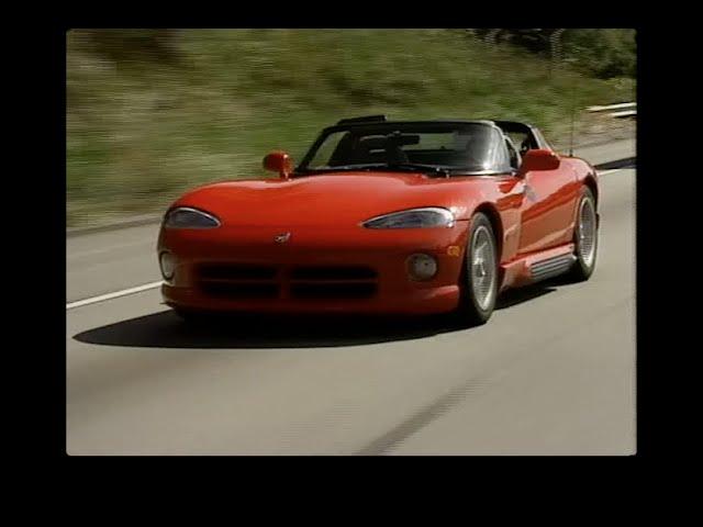 MotorWeek | Retro Review: '93 Dodge Viper RT/10