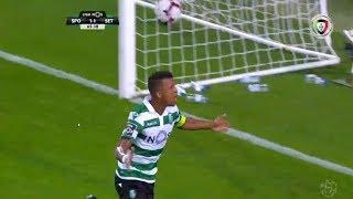 Goal | Golo Nani: Sporting (2)-1 V. Setúbal (Liga 18/19 #2)