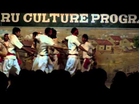 Tharu Stick Dance, Chitwan, Nepal