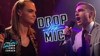 Drop the Mic w/ Cara Delevingne & Dave Franco width=