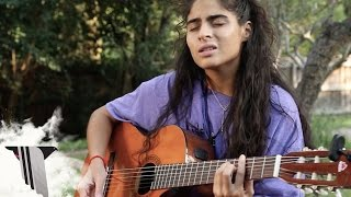 "Jessie Reyez Performs ""Shutter Island"" at SXSW For Pigeons & Planes"