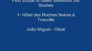 First Studie Of Gilles Silvestrini Studies for Oboe - João Miguel