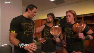 WWE RAW: Wade Barrett Encourages The Nexus After John Cena's