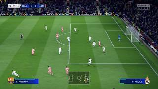 FIFA 19 4K HDR - XBOX ONE X