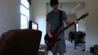Red Hot Moon Bass Cover