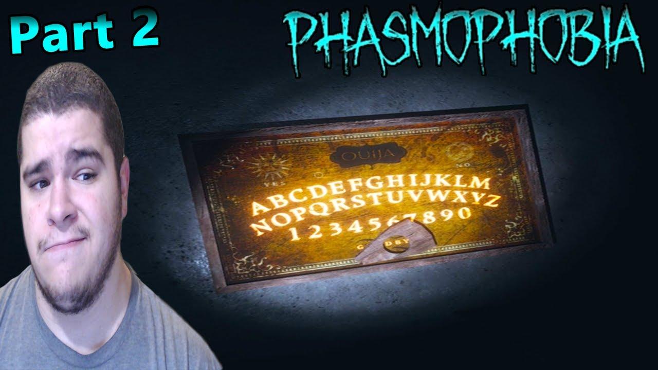 NightShadowXO - Ghost Hunter Used Ouija Board Then Something Bad Happens! - Phasmophobia Part 2