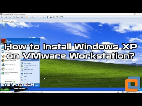 VMware Workstation Kullanarak Windows XP Kurulumu