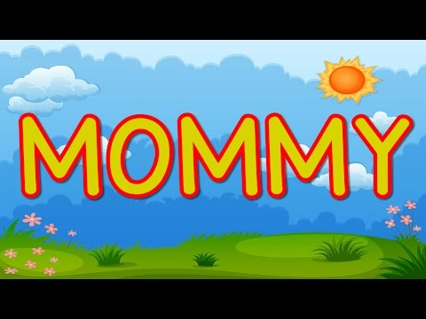 MOMMY | Happy Mother's Day | Kid's Song for Mother's Day | Jack Hartmann - YouTube