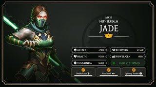 Mortal Kombat 11 Mobile Jade Gameplay Breakdown