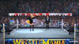 WWE 2K14: CM Punk Entrance with Old Theme