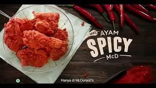 Kejutan Pedasnya Ayam Spicy McD