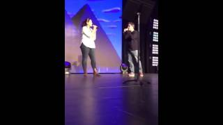 A Whole New World - Brad Kane & Jessica Ordaz, D23 Expo 2015