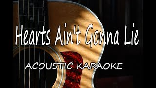 Arlissa - Hearts Ain't Gonna Lie (Acoustic Guitar Karaoke)