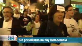 Los periodistas de Sevilla por el futuro de la Profesión