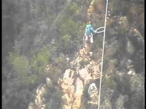World Highest Bungy Jump! [Bloukrans Bridge, South Africa]