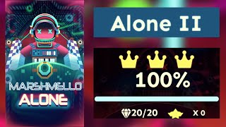 [OFFICIAL] Rolling Sky - Alone by Marshmello (Level 35 - Alone II)