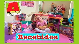 Recebidos - Minha Primeira Caixa - Algazarra Brinquedos - Ana Pim Pim