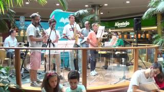 Ensemble Saxofone e Clarinete Prof Rui Gonçalves Freddie Freeloader Miles Davis Coimbra Shopping 17