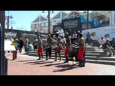 Street Performance in Cape Town