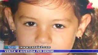 """""""Verità e giustizia per Denise, figlia di tutti noi"""". Striscione al palazzo municipale di Castellammare del Golfo"""