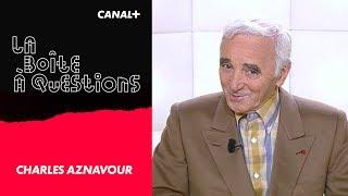 La Boîte à Questions de Charles Aznavour – 01/10/2018