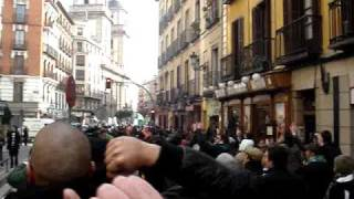 Invasão Sportinguista em Madrid - Simão no Sexy Hot